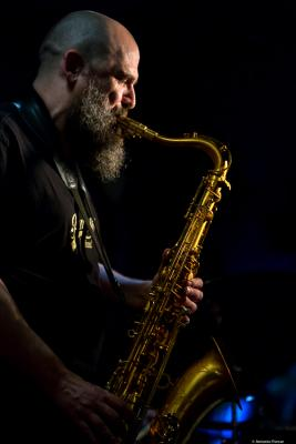 Jesús Santandreu (2018)  at Jimmy Glass Jazz Club. Valencia.