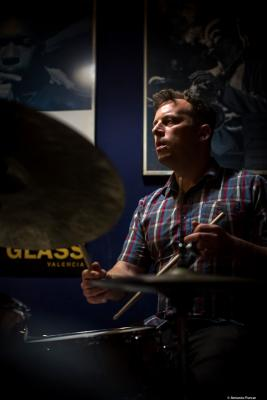 Jochen Rueckert (2018) at Jimmy Glass Jazz Club. Valencia.
