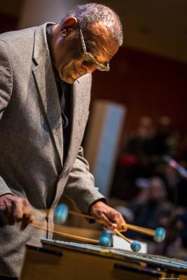 Joe Chambers (2017) in Saint Peter's Church of NYC. Bobby Hutcherson Memorial