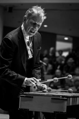 Joe Locke (2017) in Saint Peter's Church of NYC. Bobby Hutcherson Memorial