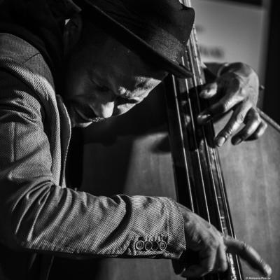 Joe Sanders (2019) at Jimmy Glass Jazz Club. Valencia.