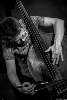 Joel Illerhag (2016) en Jimmy Glass Jazz Club. Valencia.