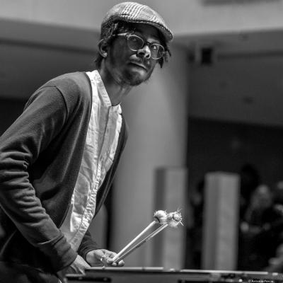 Joel Ross (2017) in Saint Peter's Church of NYC. Bobby Hutcherson Memorial