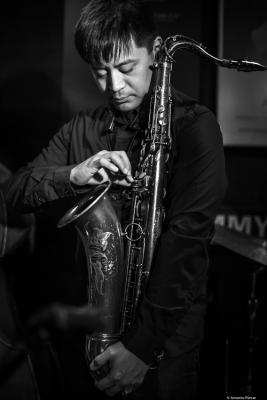 Jon Irabagon (2018) at Jimmy Glass Jazz Club. Valencia.