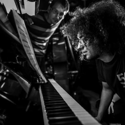 Jorge Castañeda (2018) at Jimmy Glass Jazz Club. Valencia.
