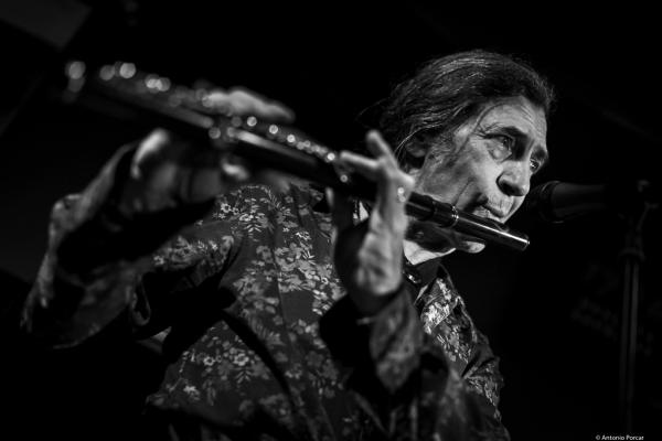 Jorge Pardo (2018) at Jimmy Glass Jazz Club. Valencia