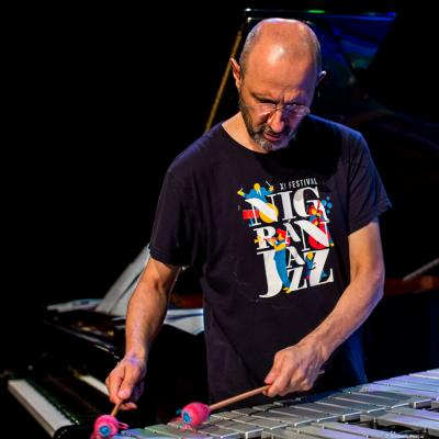 Jorge Rossy at Begues Jazz Camp 2018