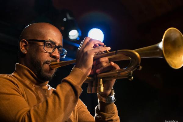 Jorge Vistel at Jazz Pardor 2019.