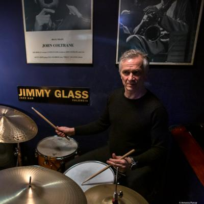 Joris Dudli (2018) at Jimmy Glass Jazz Club. Valencia.