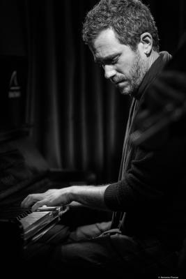 José Carra (2018) at Clarence Jazz Club. Málaga.