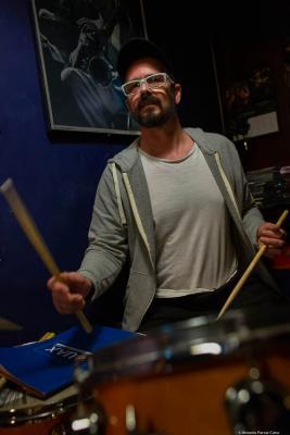 Juanma Barroso (2020) at Jimmy Glass Jazz Club. Valencia.