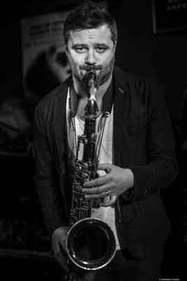 Jure Pukl (2019) at Jimmy Glass Jazz Club. Valencia
