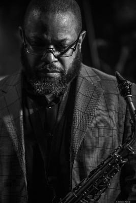 Justin Robinson (2019) at Jimmy Glass Jazz Club. Valencia.