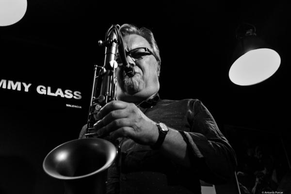 Kirk MacDonald (2017) at Jimmy Glass Jazz Club. Valencia.