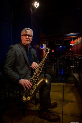 Kirk MacDonald (2019) at Jimmy Glass Jazz Club. Valencia.