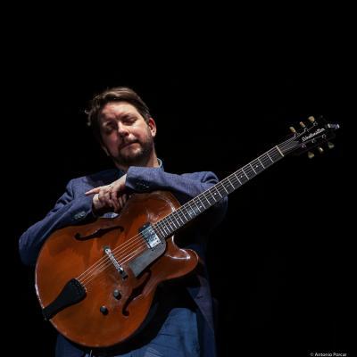 Lage Lund at Festival de Jazz de Valencia 2019.