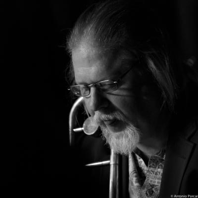 Larry Farrell (2014) in Vanguard Jazz Orchestra.