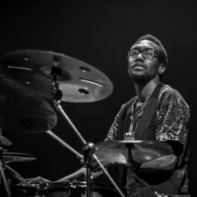 Laurent-Emmanuel Tilo Bertholo at Jazzinec 2019.