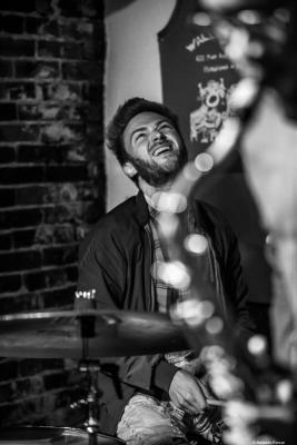 Lee Fish at Wally's Cafe Jazz Club. Boston, 2018.