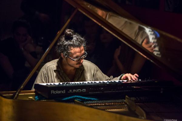 Leo Genovese (2018) at Thelonious Lugar de Jazz. Santiago de Chile.