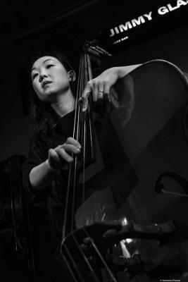 Linda Oh (2019) at Jimmy Glass Jazz Club. Valencia.