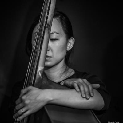 Linda May Han Oh (2019) at Jimmy Glass Jazz Club. Valencia.