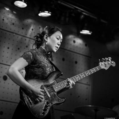 Linda Oh (2018) at Jazz Dock. Prague.