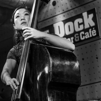 Linda Oh (2018) at Jazz Dock. Prague.