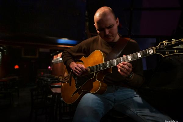 Linus Eppinger (2019) at Jimmy Glass Jazz Club. Valencia.