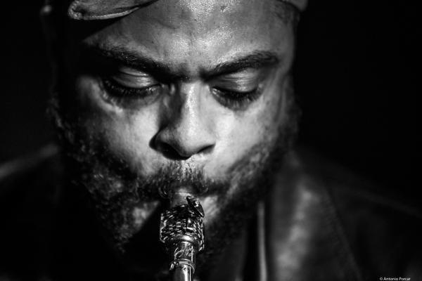 Logan Richardson (2018) at Jimmy Glass Jazz Club. Valencia.