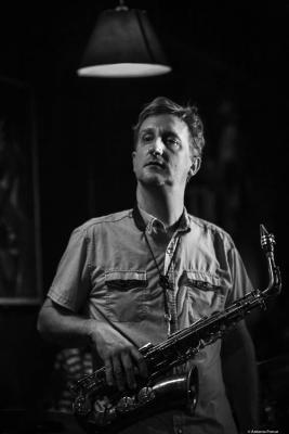 Loren Stillman (2020) at Jimmy Glass Jazz Club. Valencia.