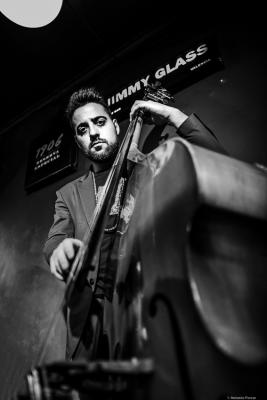 Luca Alemanno (2020) at Jimmy Glass Jazz Club. Valencia.