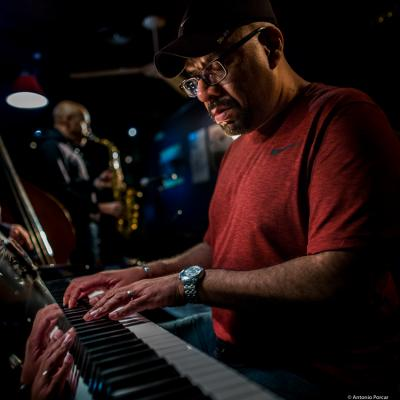 Luis Perdomo (2018) at Jimmy Glass Jazz Club. Valencia.