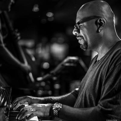 Luis Perdomo (2015) at Jimmy Glass Jazz Club. Valencia.
