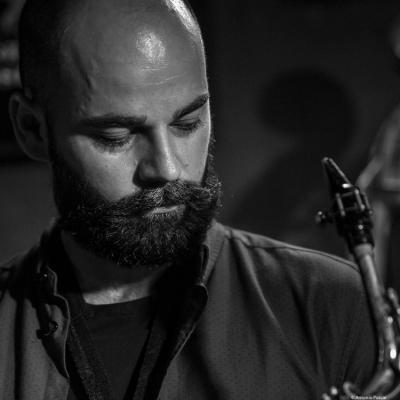 Luís Verde (2017) in Jimmy Glass Jazz Club. Valencia.