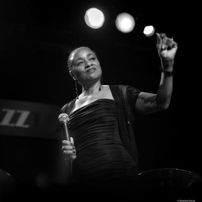 Charmin Michelle at JazzTardor 2017.