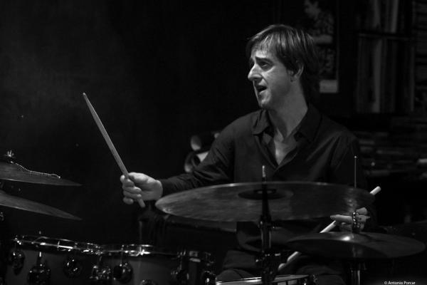 Marc Miralta (2017) in Jimmy Glass Jazz Club. Valencia.
