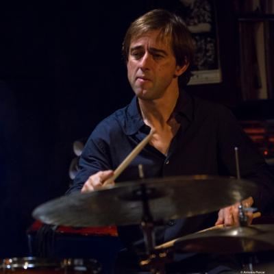 Marc Miralta (2017) in Jimmy Glass Jazz Club. Valencia.