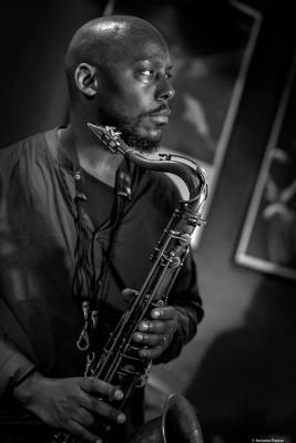 Marcus Strickland (2017) at Jimmy Glass Jazz Club. Valencia.