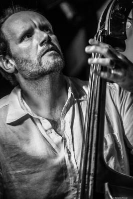 Mark Hodgson (2017) at Jimmy Glass Jazz Club. Valencia.