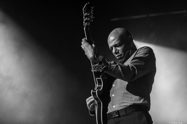 Mark Whitfield at Festival de Jazz de Santander, 2021.