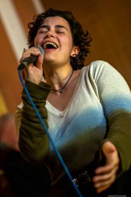 Marta Garrett (2020) at Braço de Prata. Lisbon.