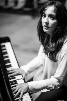 Marta Sánchez (2017) at Casa de la Música de L'Alcora. Castellón.