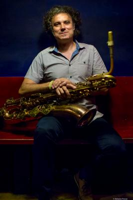 "Francisco ""Latino"" Bla nco (2016) en Jimmy Glass Jazz Club. Valencia"