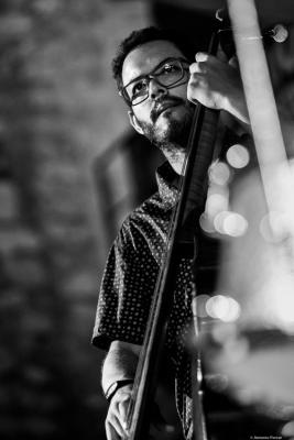 Martín Léiton (2017) at Jimmy Glass Jazz Club. Valencia.