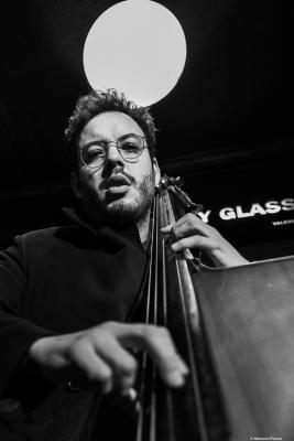 Martín Léiton (2019) at Jimmy Glass Jazz Club. Valencia.