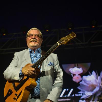 Martin Taylor at Festival de Jazz de Santander, 2021.