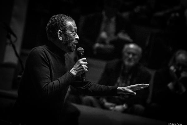 Maurice Hines (2017) in Saint Peter's Church of NYC. Bob Cranshaw Celebration of life