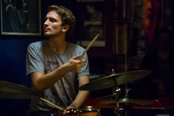 Max Andrzejewski in Jimmy Glass Jazz Club. Valencia.