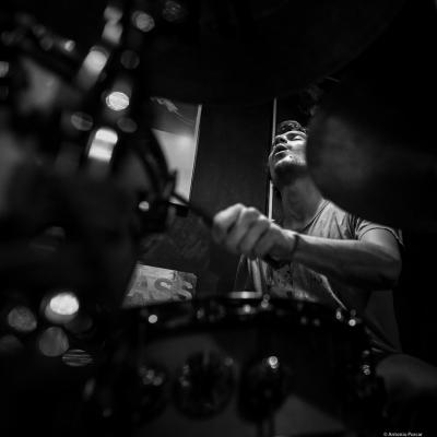 Max Andrzejewski in Jimmy Glass Jazz Club. Valencia.